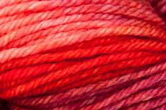 Colorful wool yarn ball Royalty Free Stock Images