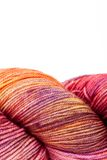 Colorful wool yarn ball Stock Photography