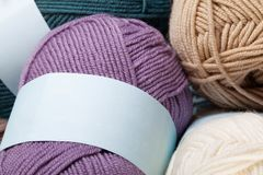 Free Colorful Wool Yarn Balls Royalty Free Stock Photography - 55637897