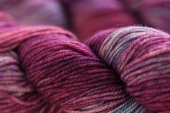Colorful wool yarn balls Royalty Free Stock Photo
