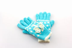 Colorful woolen glove. Stock Images