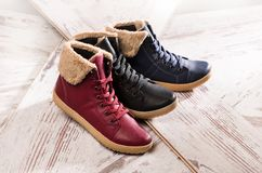 Women`s boots Royalty Free Stock Image