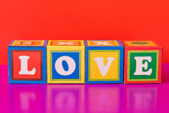 colorful word  Stock Image