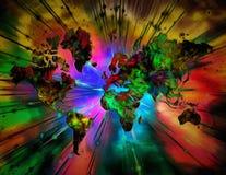 Colorful World royalty free illustration
