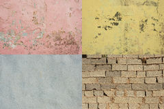 Colorful worn walls Havana #2 Royalty Free Stock Photo
