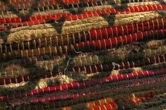 Woven native american fabric blanket. stock photos
