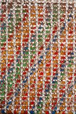 Colorful Woven Pattern Royalty Free Stock Images