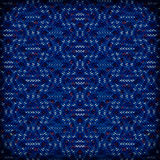 Colorful of woven plastic mat,red and blue Royalty Free Stock Images