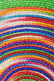 Colorful woven sisal  wool rug taxtures & background. Colorful woven sisal  wool rug natural taxtures & background Stock Photos