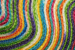 Colorful woven sisal wool rug taxtures & background. Colorful woven sisal wool rug taxtures & background pattern Stock Photography