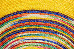 Colorful woven sisal wool rug taxtures & background. Colorful woven sisal wool rug taxtures & background pattern Stock Photos