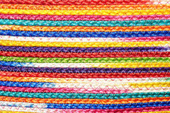 Colorful woven sisal wool rug taxtures & background. Colorful woven sisal wool rug taxtures & background pattern Royalty Free Stock Image