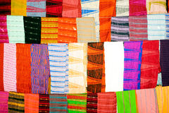 Colorful woven texture. Stock Images