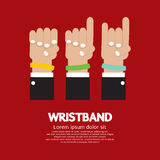 Colorful Wristband Royalty Free Stock Photos