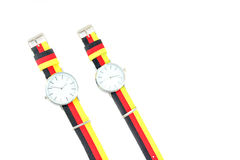 Colorful Wristwatch 11. Wristwatch on white background Royalty Free Stock Photo