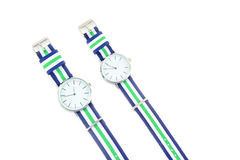 Colorful Wristwatch 13. Wristwatch on white background Royalty Free Stock Photos