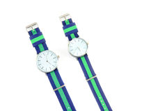Colorful Wristwatch 15. Wristwatch on white background Royalty Free Stock Photos