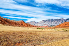 Colorful Wyoming Landscape Royalty Free Stock Photography
