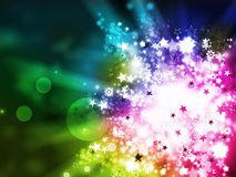Colorful xmas abstract background Stock Photos