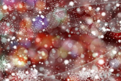 Colorful xmas background. Christmas illustration Happy New Year - colorful xmas background Royalty Free Stock Photography