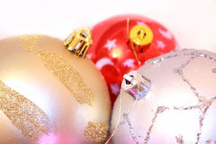 Colorful xmas balls Royalty Free Stock Photography