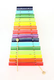 Colorful xylophone Royalty Free Stock Photography