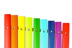 Colorful xylophone Royalty Free Stock Photos