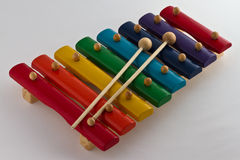 Colorful Xylophone Stock Images