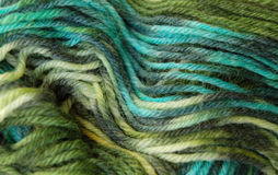 Colorful Yarn. Colors of wool and acrylic yarn close up royalty free stock photo