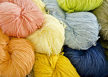 Colorful yarn Royalty Free Stock Photo