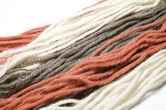Colorful yarn Royalty Free Stock Images