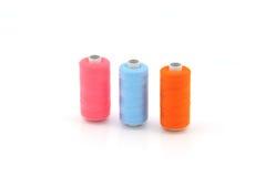 Colorful yarn. Isolated on white background stock photos