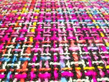 Colorful Pattern Yarn. Colorful Yarn Background, Texture of yarn, Lattice pattern Stock Images