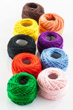 Colorful yarn Stock Image