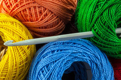Colorful yarn Royalty Free Stock Photos