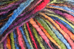 Colorful yarn - pattern / background Stock Images