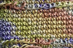 Colorful yarn weave Royalty Free Stock Photography