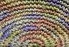 Colorful yarn weave Stock Photos