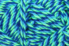 Colorful yarn. Colorful wool yarn, close up texture background Royalty Free Stock Photography