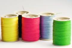 Colorful yarns Royalty Free Stock Image