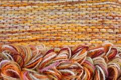 Colorful yarns Stock Image