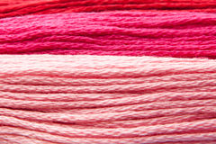 Colorful yarns Royalty Free Stock Image