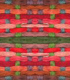Colorful yearns. Colorful yarns available for your stitching project Royalty Free Stock Images