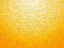 Colorful yellow checkered background Stock Images