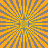 Colorful yellow and gray ray sunburst style abstract background Stock Image