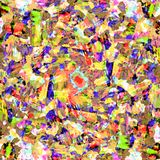 Colorful yellow ,green and blue digital oil paint abstract wallpaper. Colorful colorful yellow ,green and blue digital oil paint abstract wallpaper background stock illustration