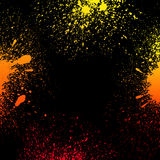 Colorful yellow, orange and red grungy gradient Stock Photo