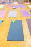 Colorful yoga mats Stock Photography