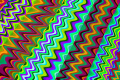 Colorful zig zag background Stock Image