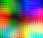 Colorful zigzag. Picture of a spectrum zigzag background Stock Photography